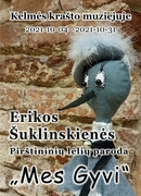 """Lėlių teatro aktorės, tautodailininkės Erikos Laurinavičiūtės-Šuklinskienės pirštininių lėlių paroda """"Mes Gyvi"""""""