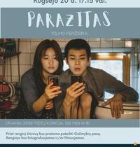 """Kino filmo """"Parazitas"""" peržiūra"""