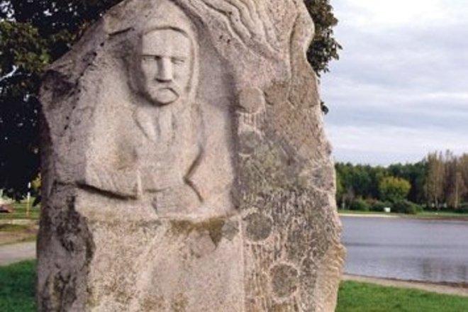 BRONIAUS LAUCEVIČIAUS-VARGŠO PAMINKLAS KELMĖJE