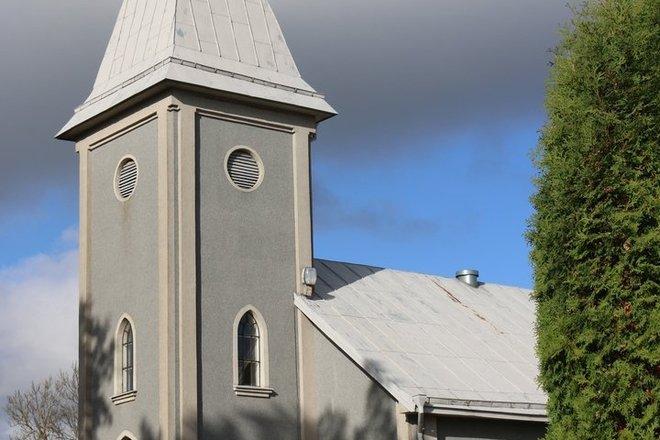CHURCH OF ST. TRINITY IN ŠAUKĖNAI